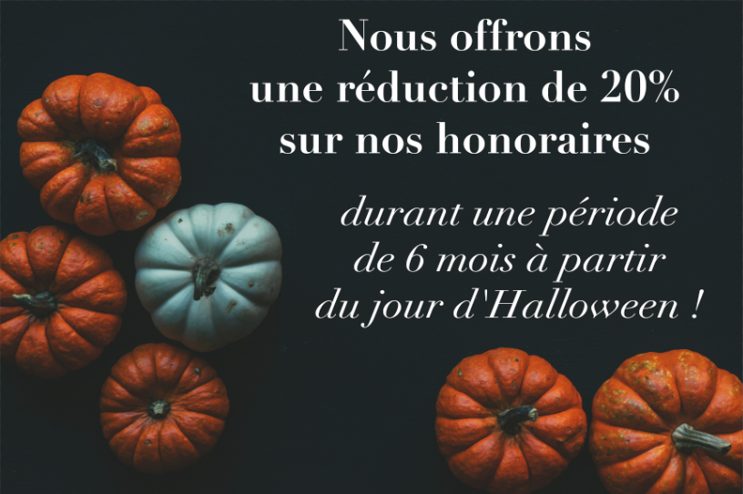 réduction halloween