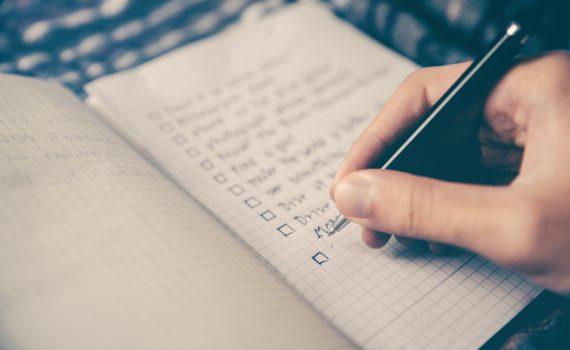 estimation-checklist